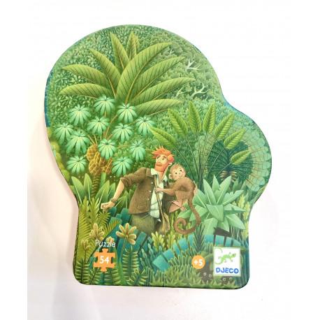 Puzzle Dans la jungla 54 piezas (+5 años)