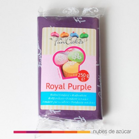 Funcakes Fondant Púrpura Real 250 gr