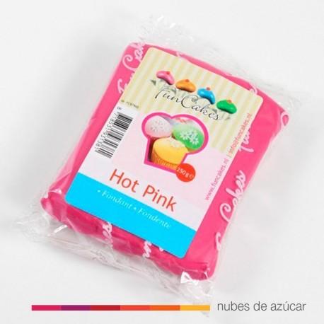 Funcakes Fondant Rosa Intenso