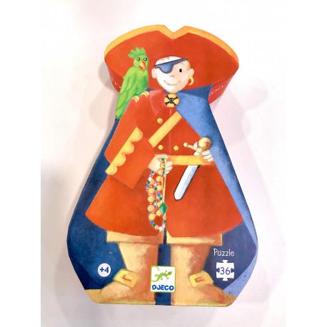 Puzzle El pirata y el tesoro 36 piezas (+4 años)