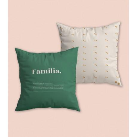 Cojín Familia definición 45x45
