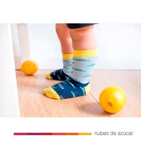 Mini calcetín Hola Cocodrilo 19-22