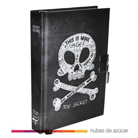 Diario secreto calavera
