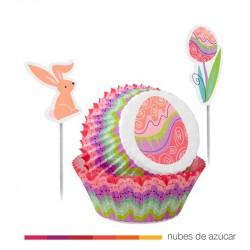 Cupcake Combo Pascua de Wilton 48 uds