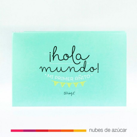 Album hola mundo!! Mr Wonderful