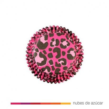Cápsulas cupcakes Leopard Print 36 uds