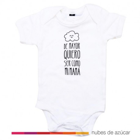 Body Mr Wonderful de mayor quiero ser como mamá