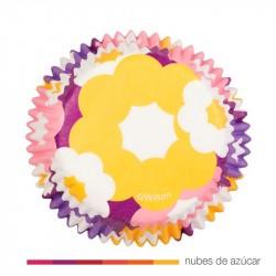 Cápsula para cupcakes flores 415-1876