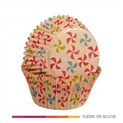 Cápsula para cupcakes molinillos 75 un