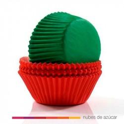 Cápsula para cupcakes roja-verde 415-2112