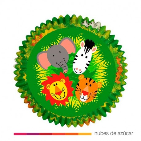 Cápsula para cupcakes jungla (415-1012)
