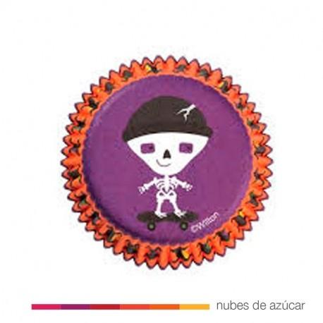 Cápsula para cupcakes halloween (415-0442)