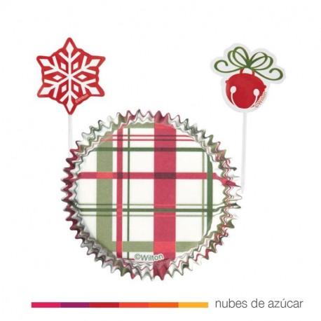 Combo para cupcakes navidad (415-1891)