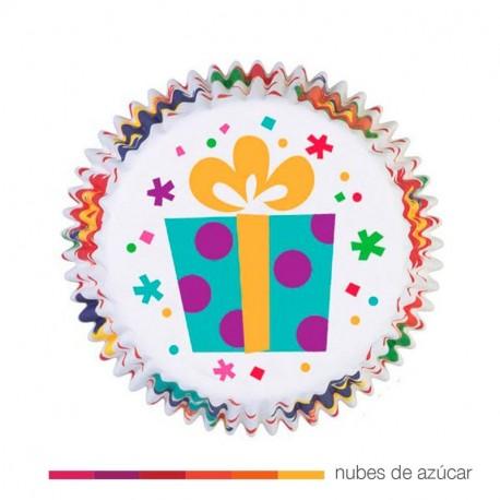 Cápsula para cupcakes regalos 75 un. (415-986)