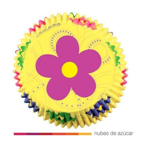 Cápsula para cupcakes Dancing daisy 50  (415-7812)