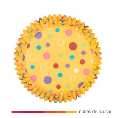 Cápsula para cupcakes sweet dots 75 un.(415-1052)
