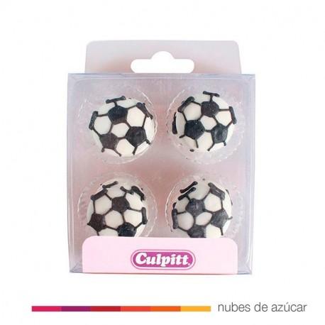 Culpitt Balones de Fútbol de azúcar. 12 un