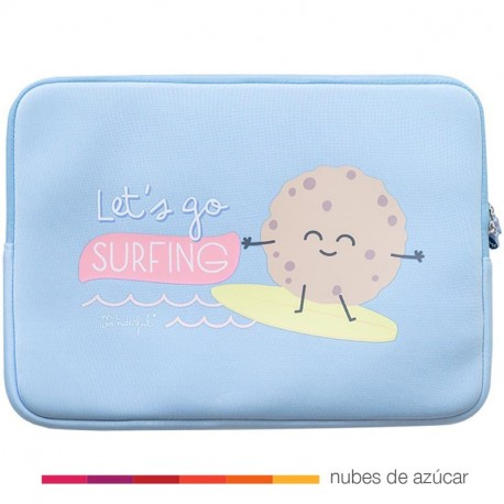 Funda de Portatil let´s go surfing