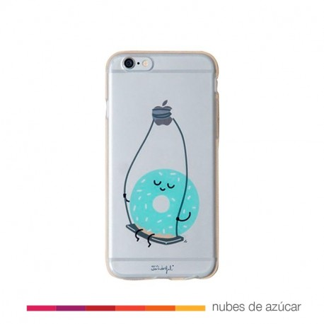 Carcasa transparente iphone 6/6S plus