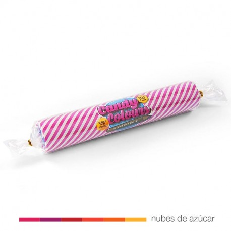 Colorines con aroma a chicle
