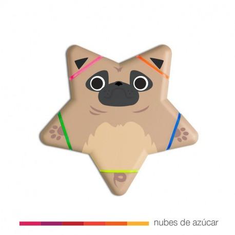 Fluorescentes perrito