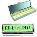 Pastillero pill after pill