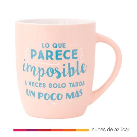 Taza Mr Wonderful Lo que parece imposible...