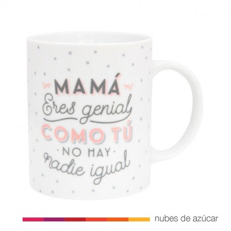 Taza Mr Wonderful Mamá eres genial