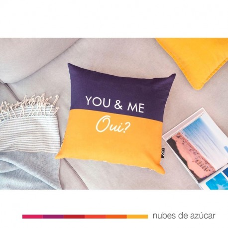 Funda Cojín UO* You and me oui?