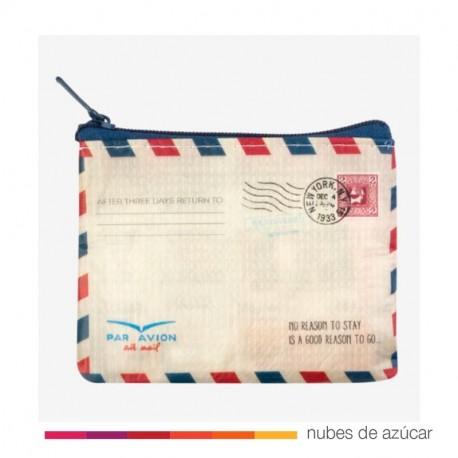 Monedero carta