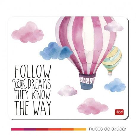 Alfombrilla para ratón follow your dreams