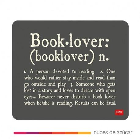 Alfombrilla para el ratón book lover