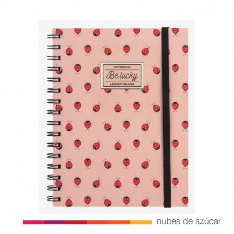 Notebook be lucky