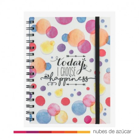 Notebook today I choose hapiness