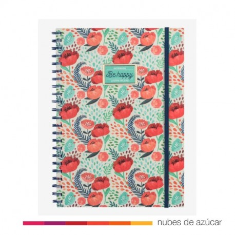 Notebook Be happy A4