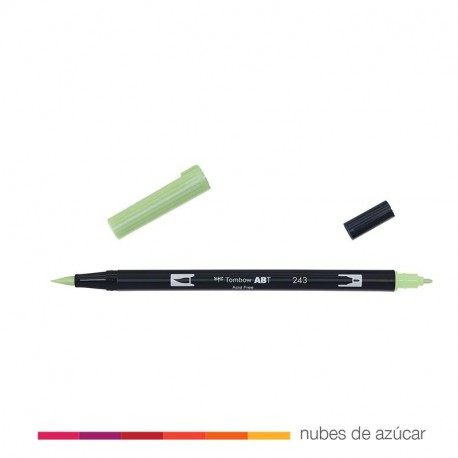 Rotulador doble punta Tombow mint 243