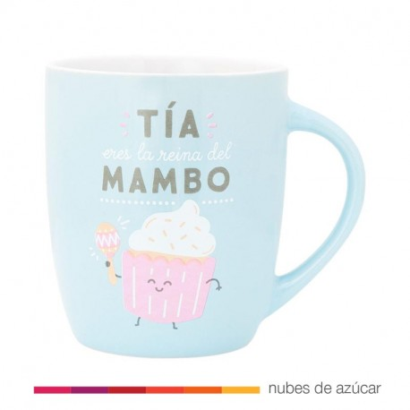 Taza Mr Wonderful Tia eres la reina del mambo