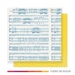 Papel doble cara 375820 Melody