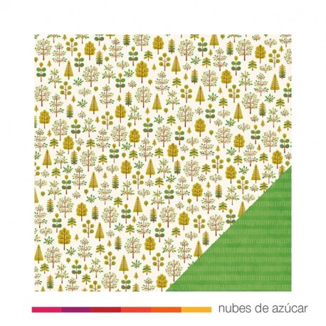 Papel doble cara 732806 Nature walk