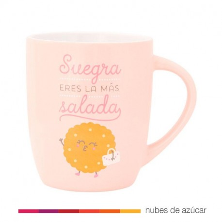 Taza Mr Wonderful Suegra, eres la mar de salada