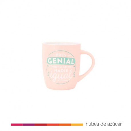Taza Mr Wonderful Eres genial como tú..
