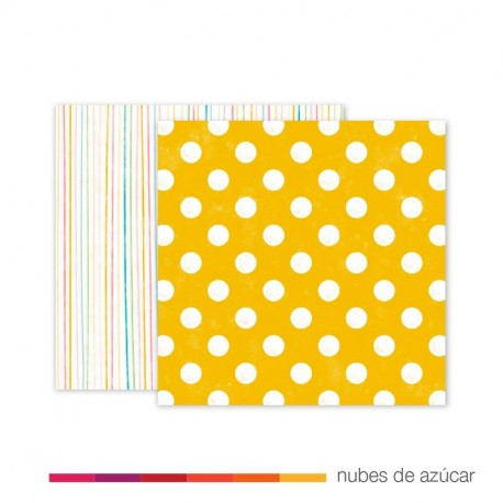 Papel doble cara 310446 birthday dots