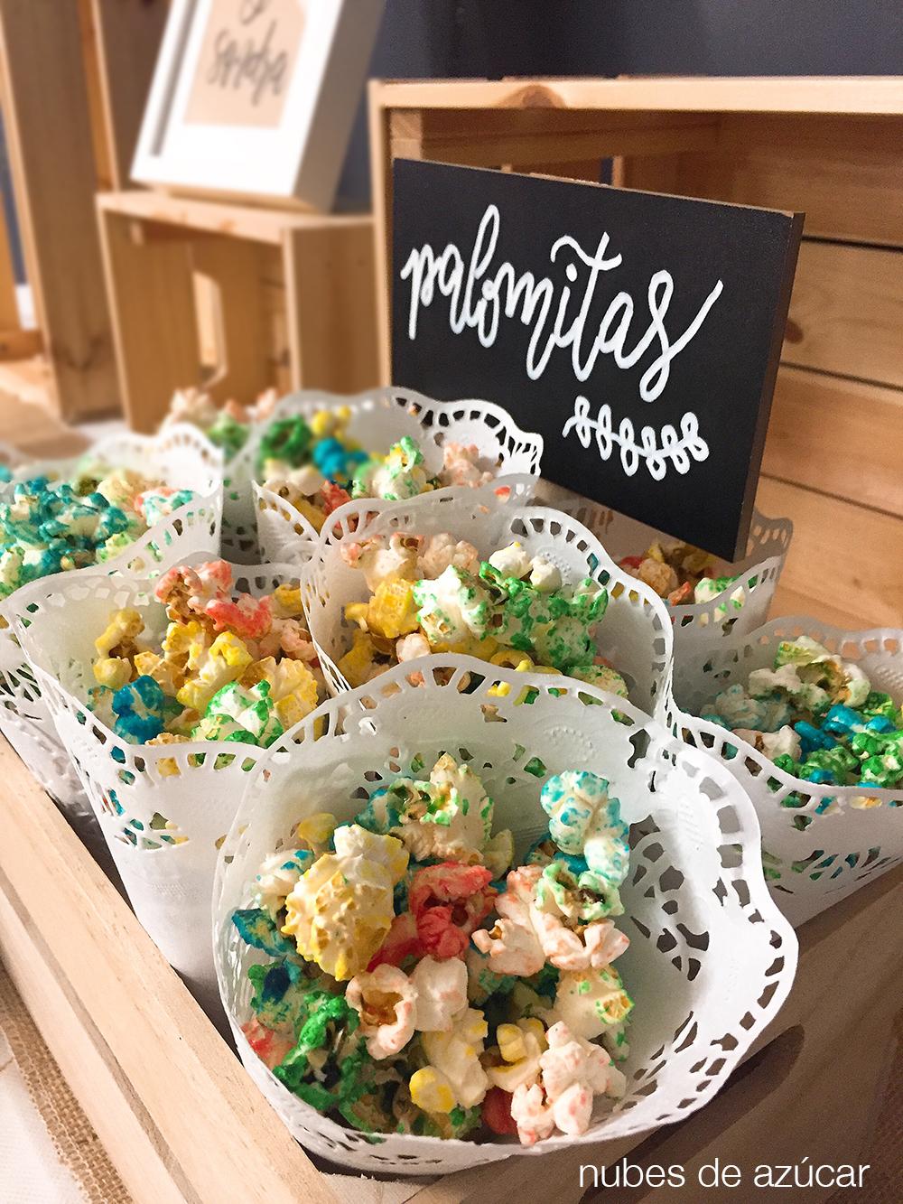 Mesa dulce para la boda de lvaro y sandra en onda for Mesa de dulces para boda